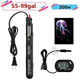 buy 300w Submersible Aquarium Heater Auto Thermostat heater with suction,heater for fish tank water,Bonus thermometer and Jellyfish Decoration now, new 2019-2018 bestseller, review and Photo, best price $18.99