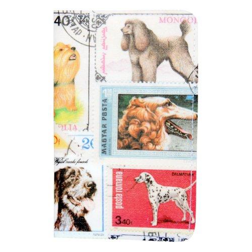 Dogs Postage Stamp Gift Card Holder & Wallet - Postage Dog Stamp