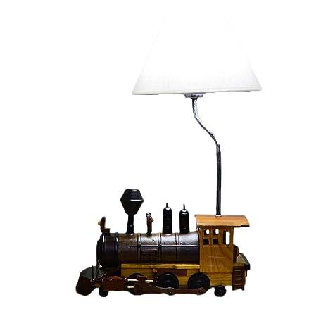 Bedroom Chandelier, Wonderful Decorations For Kidschildrens Ceiling  LightsCreative Retro Train Table Lamp Child Bedroom Lamp