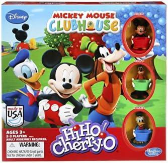 15b6804f2aa Amazon.com: Hasbro HiHo! Cherry-O Game Disney Mickey Mouse Clubhouse ...