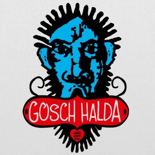 Spreadshirt Schwoba Gosch Halda Schwäbischer Dialekt Stoffbeutel Weiß GebE0q
