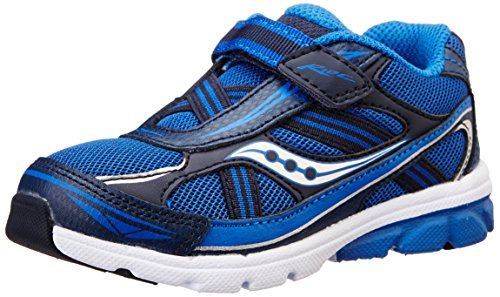 Saucony Boys Baby Ride Sneaker ,Royal/Navy,10 M US Toddler