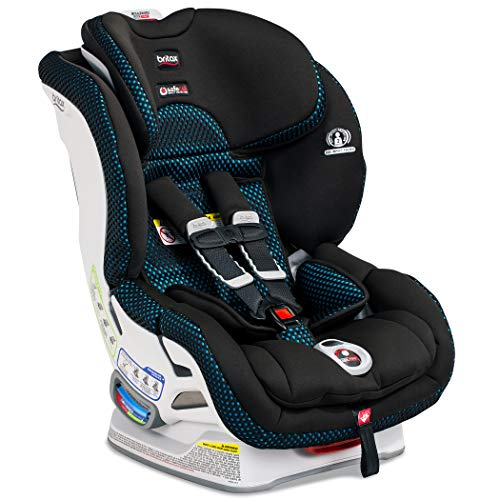 Britax Boulevard ClickTight Convertible Car Seat - 2 Layer Impact Protection - Rear and Forward Facing - 5 to 65 Pounds