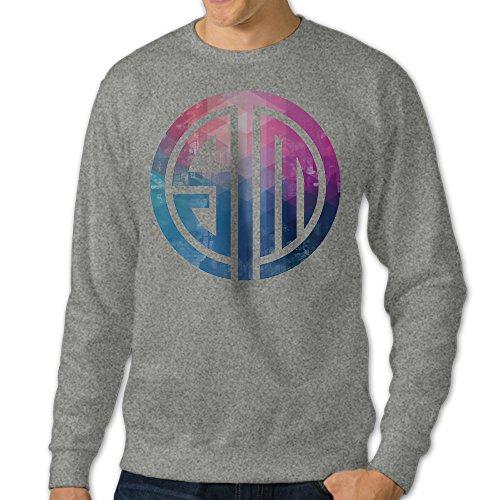Men's TSM Team Solo Mid LCS NA Logo Sweatshirt Hoody 3X