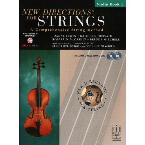 New Directions for Strings Violin Book (Method Book 1 Violin)