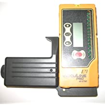Johnson Level 40-6760 One-Sided Laser Detector With Clamp For Green Beam Rotating Lasers