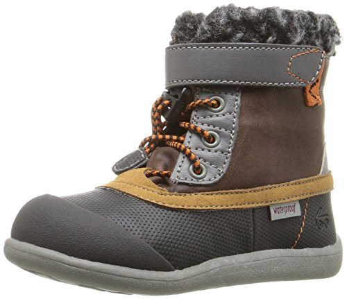 Pictures of See Kai Run Kids' Jack WP Hiking Boot Brown/Black 5T M US Boy 1