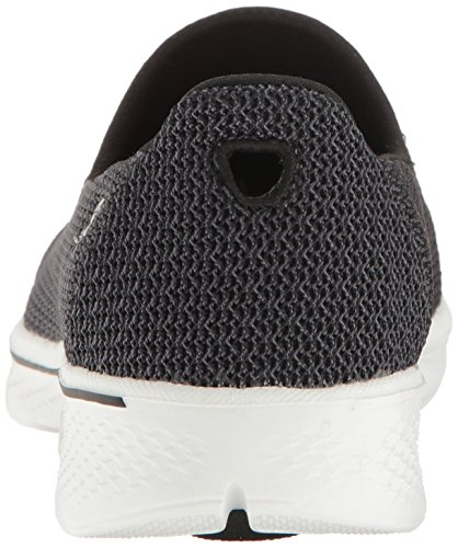 Donna Go 4 White Allenatori Skechers Walk Nero Black UFddqgIA