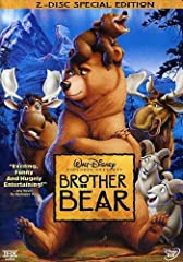 """Disney proudly presents BROTHER BEAR, an epic animated adventure full of comedy and heart. With five great new songs from Academy Award(R) winner Phil Collins (Best Music, Original Song, """"You'll Be In My Heart,"""" TARZAN(R), 1999), it's """"pure D..."""