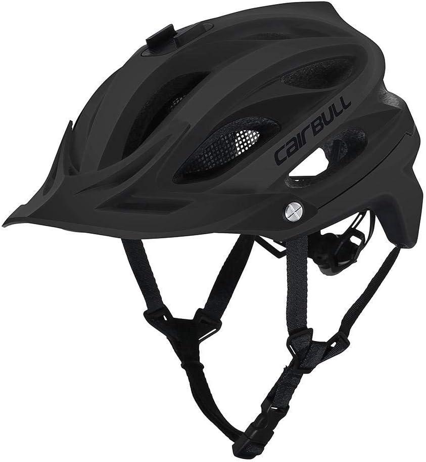El Casco de Bicicleta de monta/ña para Montar en Bicicleta de Seguridad se Puede equipar con la Circunferencia de la Cabeza de la c/ámara Deportiva 55CM-61CM