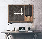 TUBİBU Wall Decor, Convenient to Play Scrabble, Message Board
