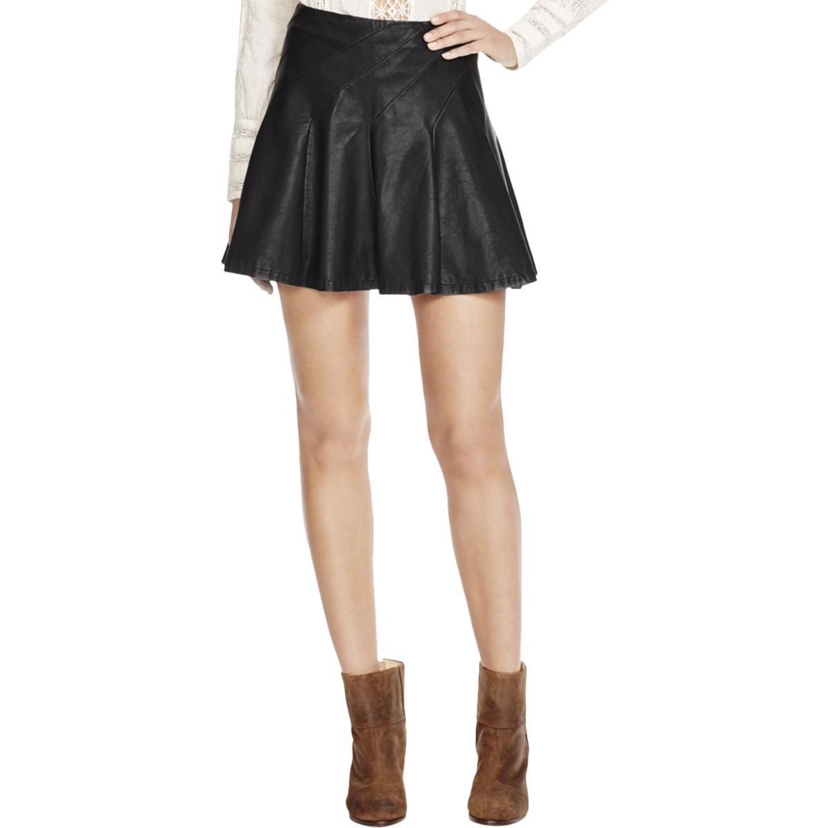 Supply David Lerner Black Skater Skirt Xs Skirts