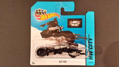 Hot Wheels New HW CITY BATMAN 75th ANNIVERSARYTM Series Diecast Bat-Pod 64/250