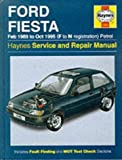 Ford Fiesta Feb. 1989 to Oct. 1995 (F to N Registration) Petrol (Haynes Service and Repair Manual) 2nd (second) Revised Edition by John S. Mead published by Haynes Manuals Inc (1997)