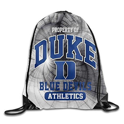 GYM Duke University Duke Blue Devils Athletics Drawstring Backpack Bag