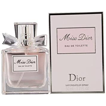5928fa044f34 Amazon.com   Miss Dior Eau De Toilette Spray (Original) 50ml 1.7oz   Beauty