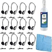 Hamilton HA2 Schoolmate Personal Stereo Headphone (12-Pack)