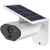 Cámara de seguridad CCTV de 2,0 MP, 1080P, WiFi, funciona con energía solar, UPS, inalámbrico, cámara IP con batería recargable, audio bidireccional, IP67, resistente a la intemperie, control móvil con tarjeta SD de 32 GB/64 GB