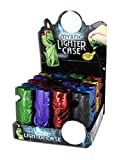 1x COLORFUL MYSTIC BIC LIGHTER HOLDER- ONE COVER WITH DESIGN AND COLOR MAYBE VARY