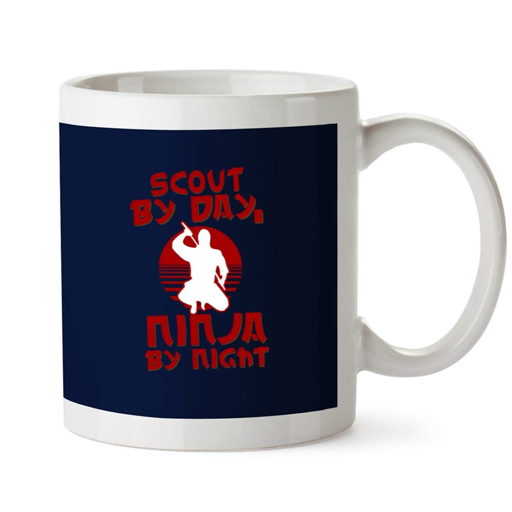 Idakoos Scout by Day, Ninja by Night - Ocupaciones - Taza ...
