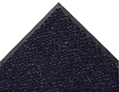 Andersen 109 Onyx Crunch BCF Nylon ColorStar Crunch Mat, 5' Length x 3' Width, For - Onyx 5 Area Rugs