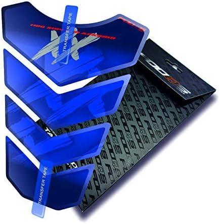 Blau Fooqs Tankpad f/ür Honda CBR 1100 XX