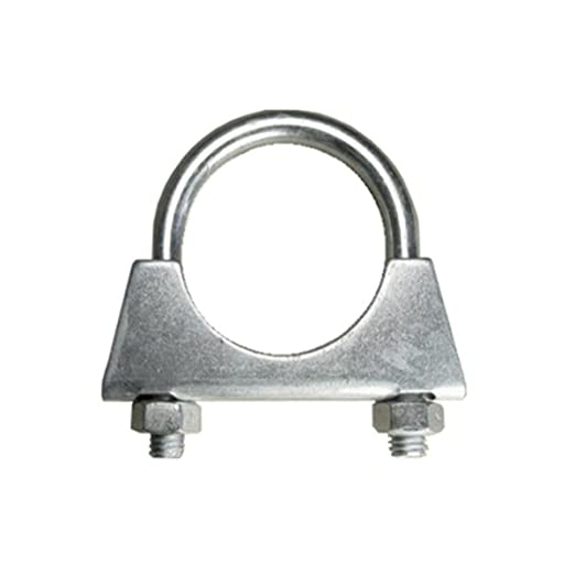 Exhaust U Hose Clamp Clamps Nuts Bolts Zinc Plated Universal New Various Sizes