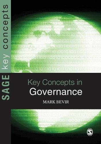 Key Concepts in Governance (SAGE Key Concepts series)