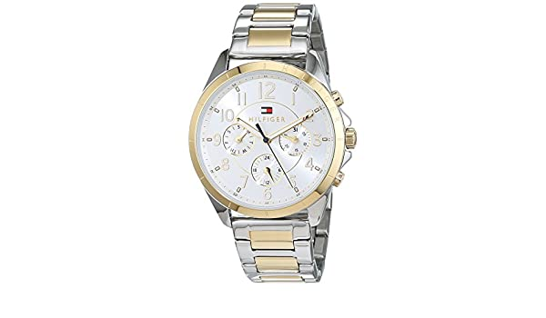 Amazon.com: Tommy Hilfiger Kingsley 1781607 Wristwatch for women Design Highlight: Watches