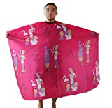 Andesan Polyester Cartoon Pattern Hairdressing Cape Salon Barber Hair Cutting Gown Cover