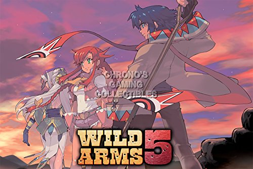 - CGC Huge Poster GLOSSY FINISH - Wild Arms 5 PS2 - EXT899 (24