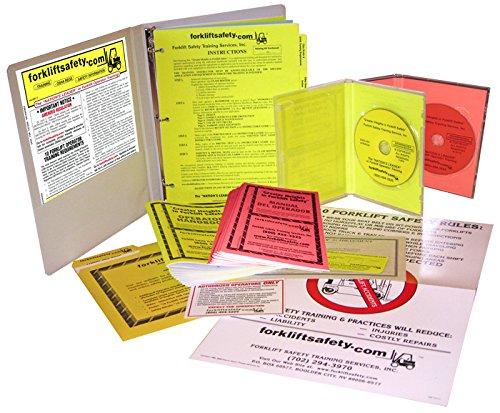 OSHA Compliant Forklift Safety Training Kit (English & Spanish Combo)