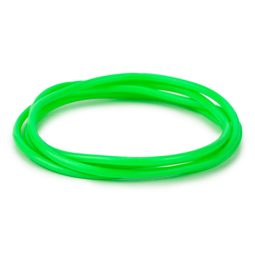 Joe Cool Bracelet Pack of 4 Green Made with Gummy /& Rubber
