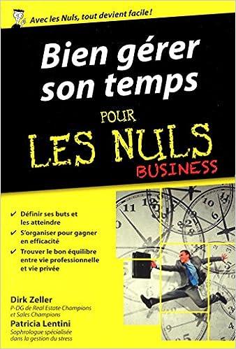En ligne téléchargement Bien gérer son temps pour les Nuls poche Business pdf