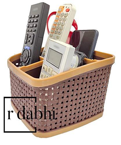 R Dabhi Plastic Multipurpose Storage Stand Desk Organizer for Cosmetic, Pen, Mobile and Remote, 1pc Assorted Color (B07PNQQ6TS) Amazon Price History, Amazon Price Tracker