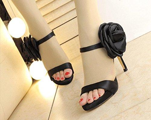 AWXJX Sommersaison Frauen Flip Flops Wohnung mit Verschleiß Flachbild Zuziehen äußeren Verschleiß mit Künstliche Diamanten Golden 7.5 US/38 EU/5 UK - 8722ec