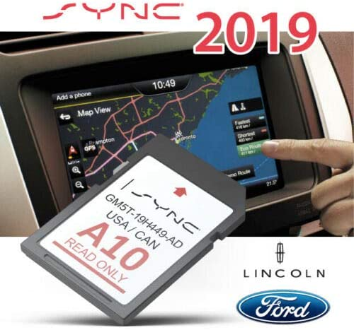 CleverDeal A10 2019 Ford Lincoln GPS Navigation SD Card MAP Update SYNC Updates A9 US,CAN