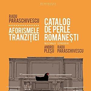 Aforismele tranzitiei Audiobook