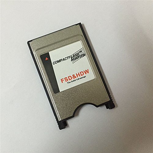 Pcmcia Flash Adapter (FengShengDa New Style High - speed notebook PC memory supplement Laptop PCMCIA Compact Flash PC CF Card Reader Adapte)
