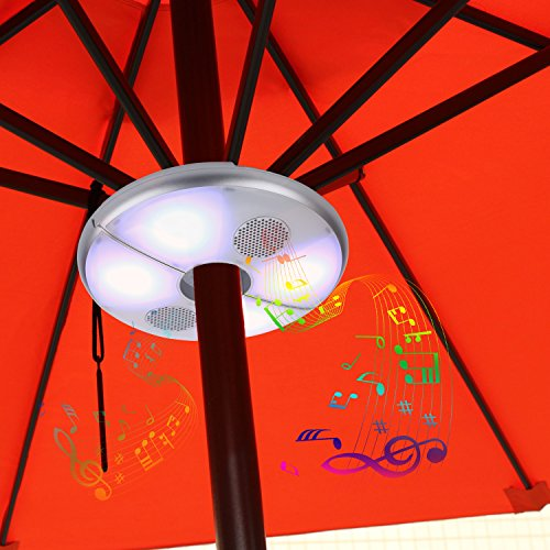 Umbrella Bluetooth Rechargeable Wireless Speakers