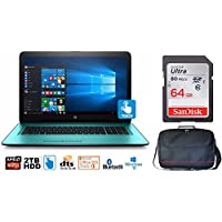HP Notebook 17 Bundle, AMD A12, 2TB HD, 12GB, 17.3 TouchScreen, Office 365 1-Yr