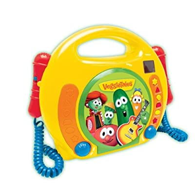 Veggie Singalong Cd Player by VeggieTales