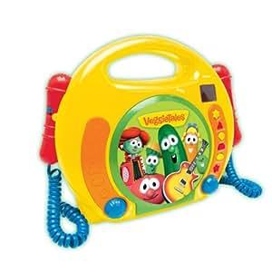 Amazon.com: Veggie Singalong CD Player: Toys & Games