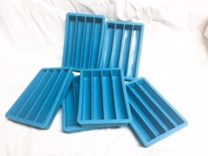 amazon com 3 blue silicone mold for pen blank castings