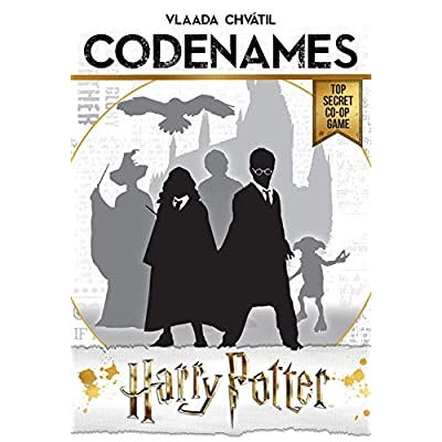 USAOPOLY CODENAMES: Harry Potter Board Game | Based on Harry Potter Films | Officially Licensed Harry Potter Game | Harry Potter Merchandise: Toys & Games