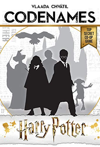 USAOPOLY CODENAMES: Harry Potter Board Game | Based on Harry Potter Films | Officially Licensed Harry Potter Game | Harry Potter Merchandise