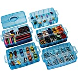 LifeSmart USA Stackable Storage Container Blue 50