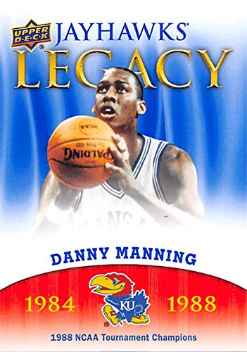 - Danny Manning Basketball Card (Kansas Jayhawks, 1988 NCAA Champion) 2013 Upper Deck Legacy #JL-17