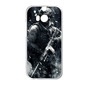 Unique Disigned Phone Case With Call Duty Image For HTC One M8