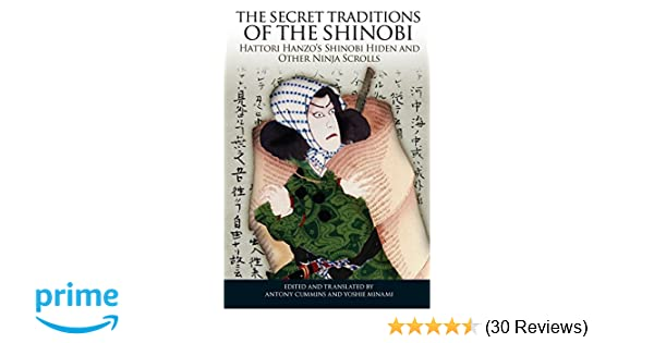 The Secret Traditions of the Shinobi: Hattori Hanzos ...